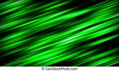 Abstract rotating background in green