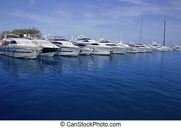 Mallorca Puerto Portals port marina yachts in Spain
