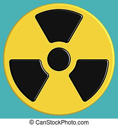 Radiation - Illustration of the radiation sign