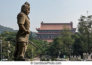 Po Lin Temple - Po lin Temple on Lantau Island, Hong kong...