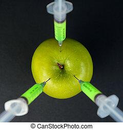 Genetic green apple