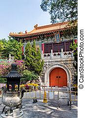 Po Lin Monastery - A Chinese monastery in Hong Kong