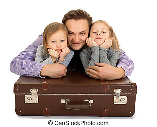 Dad and two daughters - Daddy and his two favorite daughters...