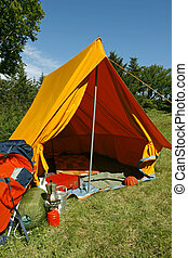 Camping site - Beautiful and natural camping site on a...