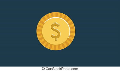 money concept design, Video Animation HD1080