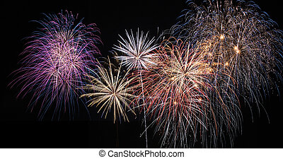 Fireworks celebration - Amazing display of fireworks