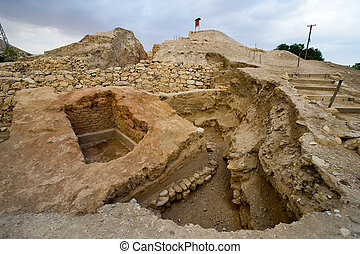 Mound Jericho - Old ruins in Tell es-Sultan better known as...