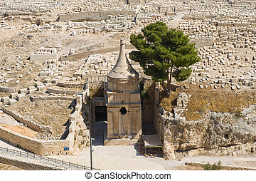 Monument for Absalom - This is the tomb of Avshalom...