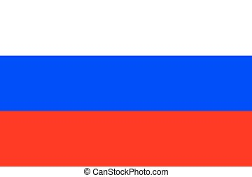 Standard Proportions for Russia Flag Country