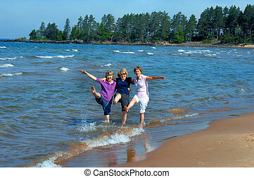 Adults being Kids - Three sisters revisit their childhood...