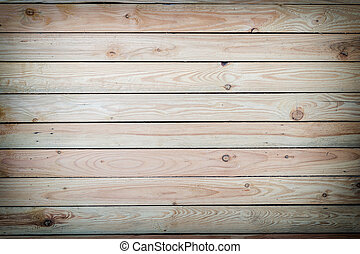 Pine wood plank texture and background - Close up pine wood...