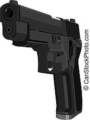 pistol - Vector pistol