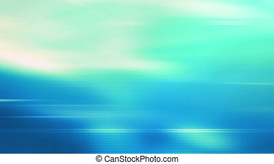 CG Blue green looping abstract - Looping blue green abstract...