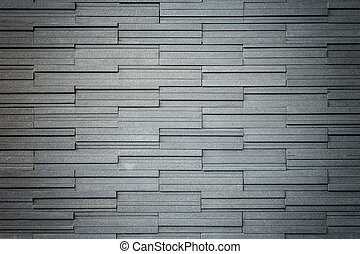 Pattern of grey and rough granite wall texture, background -...