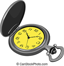 pocket watch - Vector pocket watch