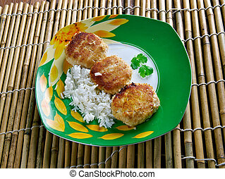 Fish Cakes - Bajan Sweet Potato Fish CakesBarbados, North...