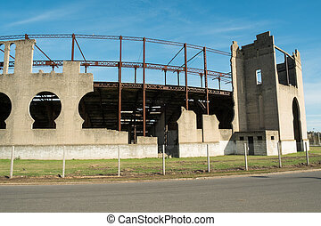 Colonia bullfight ring - Remains of the historic bullfight...