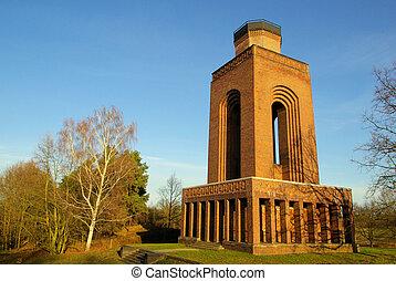 Burg Bismarck tower 04