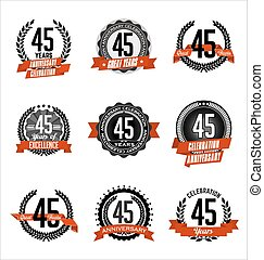45th Vector Clip Art EPS Images. 95 45th clipart vector ...