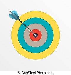 Darts hitting