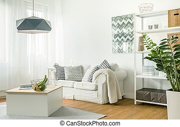 Trendy details in living room - Picture of trendy details in...