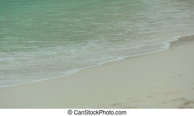 Waves rolled on the sand of Beach - Waves rolled on the sand...