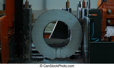metal machining cutting blank detail - Industrial metal...
