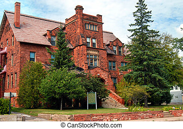 Old Main, on the Finlandia College Campus, is an historic...