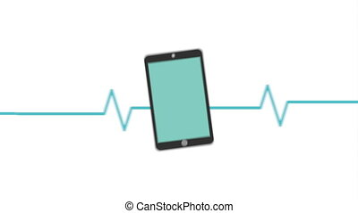 Cardiology icon design, Video Animation HD1080