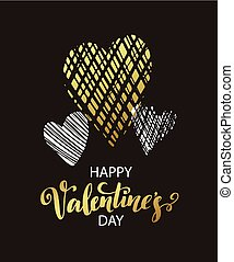 Vector metallic paint heart. Vector illustraion EPS10
