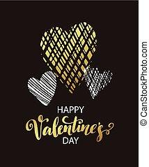Vector metallic paint heart Vector illustraion EPS10