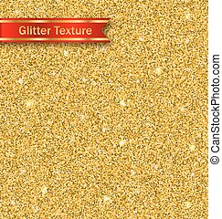 Glitter Seamless Pattern, Golden Luxury Wallpaper