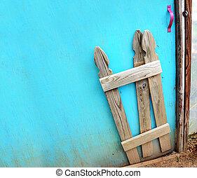 Background Greenhouse Door Two