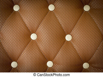 Old brown leather background in vintage style