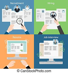 Hiring, recruiting, resume and interview. - Hiring and...