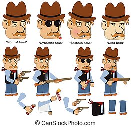 game character sheriff - Character sheet for an old west on...