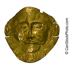 ancient arquelogy mask - the treasure called the mask of...