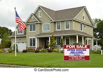 For Sale Suburban Home - Real estate for sale open house...