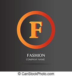 F Letter logo abstract design