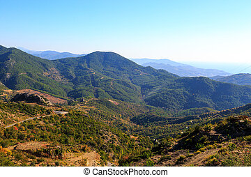 Nature View in Alanya - Nature view of moutain in Alanya,...