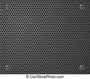 Metal background Vector illustration