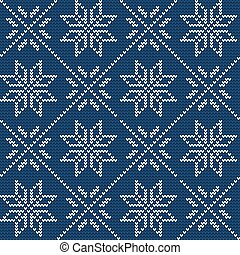 Ugly sweater Background 1 - Vector Illustration of Ugly...