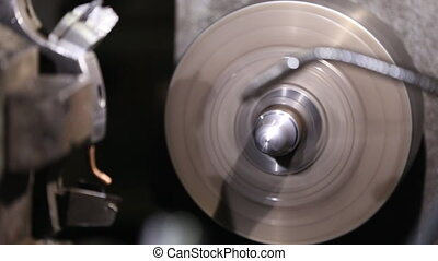 programmable lathe work - Work programmable high-speed lathe...