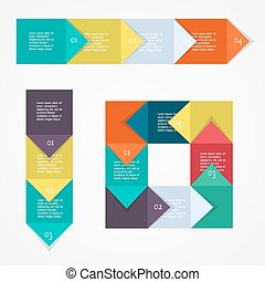 Process chart module Vector illustration