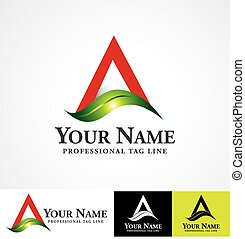 Vector logo design template. Concept for herbal, agro and...