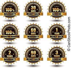 Vector set of golden labels satisfaction guaranteed
