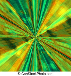 Abstract infinite design. - Big bang explosion. Copy space...