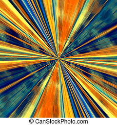 Abstract technology background - Hi-Tech line art Odd visual...