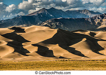 Great Sand Dunes Colorado - Great Sand Dunes National Park...