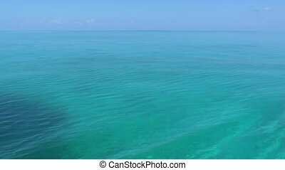 Clear Water of Caribbean Sea near Cayo Largo, Cuba